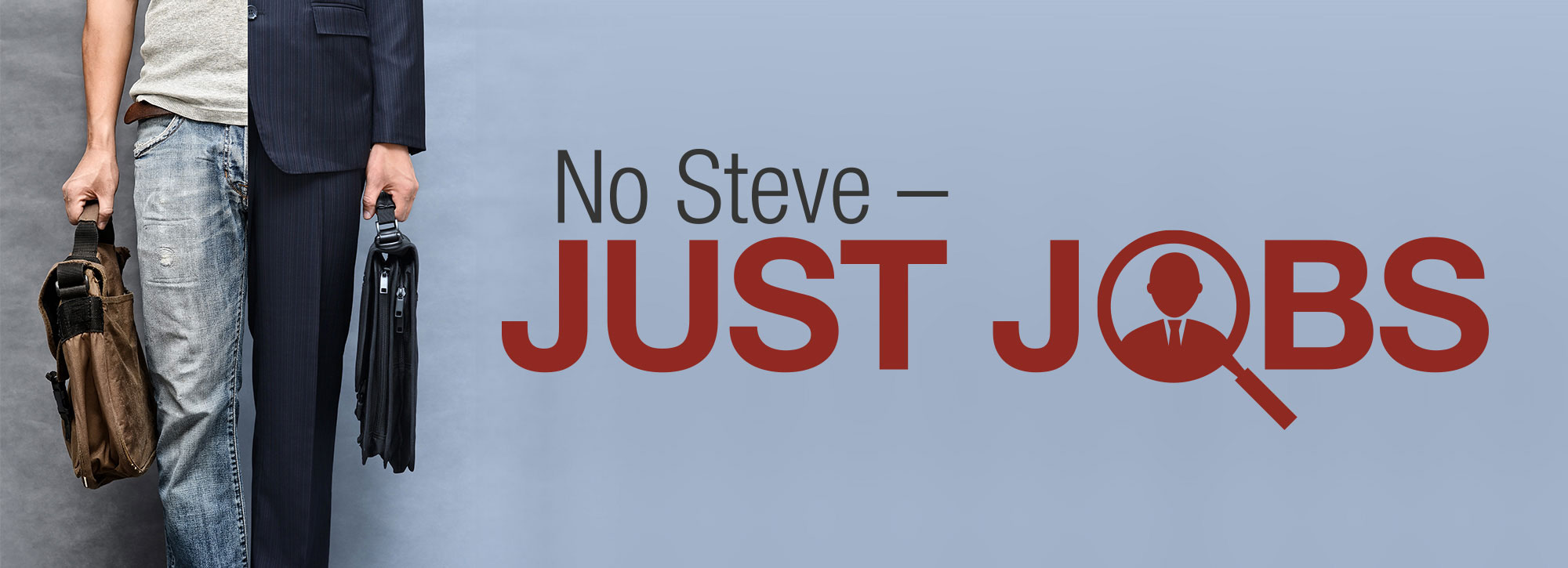 No Steve - Just Jobs
